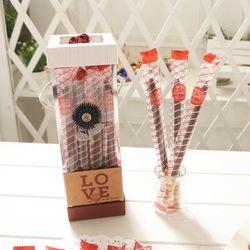 파스텔페페 롱빼 막대과자 데이 초콜릿 간식 수능선물