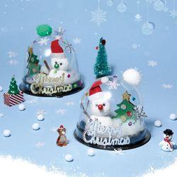 크리스마스세상만들기(4개)투명돔눈사람만들기트리