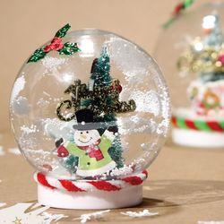 렛잇스노우볼만들기(4개)크리스마스만들기겨울