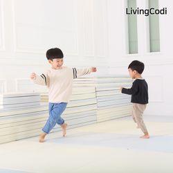 리빙코디 제로갭 폴더매트 2단 100x200 모음  층간소음완화매트