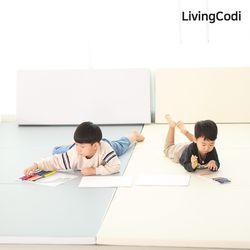 리빙코디 제로갭 폴더매트 3단 120x300 모음  층간소음완화매트