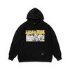 KING OVERSIZED HEAVY SWEAT HOODIE BLACK