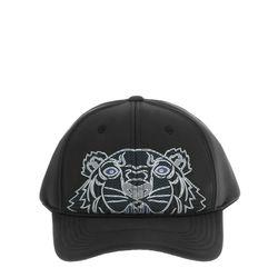 [겐조] 블랙 타이거 네오프렌 베이스볼 캡 모자