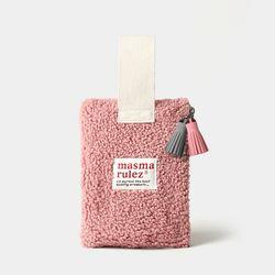 마약 스트랩 파우치 뽐뽐 - Indi pink