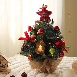 쁘띠 크리스마스 우드홈 수제트리세트