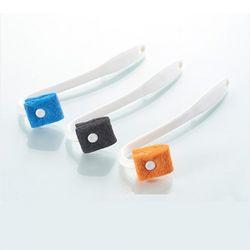 다용도 걸이형 변기 세척솔 1개(색상랜덤)