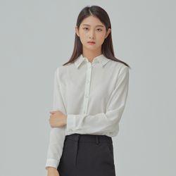 [리오더]베이직 셔츠 블라우스  MIWBLA94QB