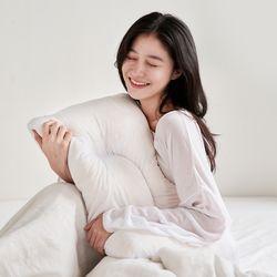 백테라피 꿀잠 씨리얼베개 메모리폼 경추베개 단품(커버 미포함)