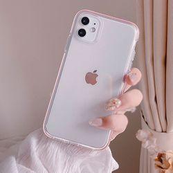 클리어 그립 케이스(아이폰11)