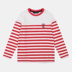 공용 슬럽 스트라이프 티셔츠 HKLA19SB3