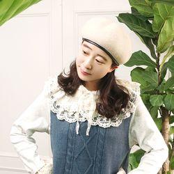 로맨틱 2단 캉캉 아일렛 레이스 자수 케이프n1019