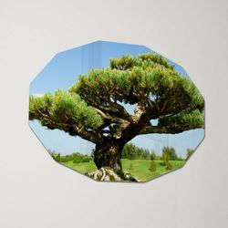 af371-폼아크릴액자78CmX56Cm12각형대형부와명예의상징소나무