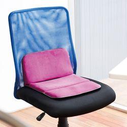 엑스젤 출장 여행용 휴대 방석쿠션 더블 로즈 MOB11-RO