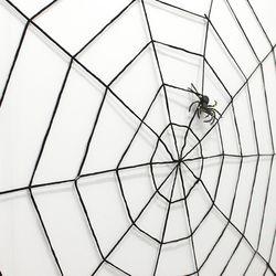 4000 굵은 거미줄 1.5m(블랙)