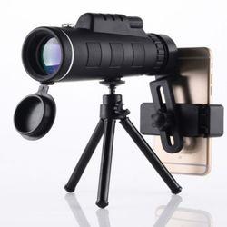 스마트폰용 40X60 고배율 줌 망원경 확대경 스코프