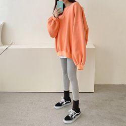Gimo Cotton Puff Boxy Sweatshirt