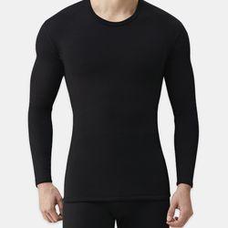 BG 남성 융기모 웜웨어 블랙