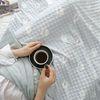 보들보들 정전기 방지 비숑 엠보 극세사 두겹 담요 75x100