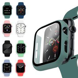 애플워치6 5 4 3 실리콘 일체형 풀커버 케이스 시계줄