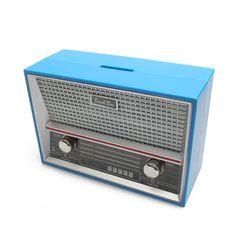 레트로 라디오 저금통