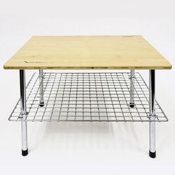 워크 테이블 LOW 대나무 상판