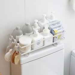 미니멀라이프 욕실선반 심플변기선반 화장실정리 거치식수납