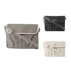로우로우 WRINKLE CANVAS IPAD BAG 708  크로스백  노트북가방
