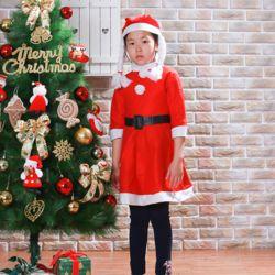 어린이 원피스 산타복(11세내외)(여) 산타복세트