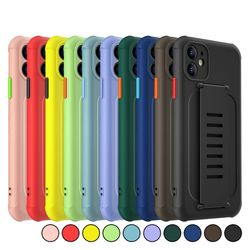 아이폰7플러스 심플 파스텔 컬러 실리콘 케이스 P186