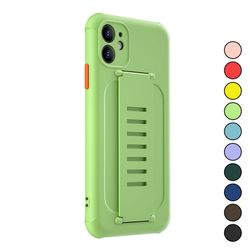 아이폰8 심플 파스텔 컬러 패션 실리콘 케이스 P186