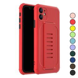 아이폰SE2 심플 파스텔 컬러 패션 실리콘 케이스 P186