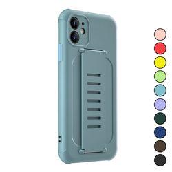 아이폰X 심플 파스텔 컬러 패션 실리콘 케이스 P186
