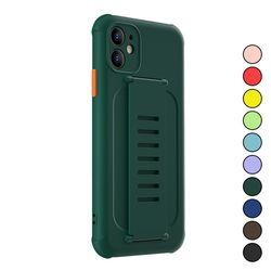 아이폰XS맥스 심플 파스텔 컬러 실리콘 케이스 P186