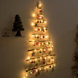 LED리디아벽걸이우드트리 100cmP 크리스마스 TRHMES