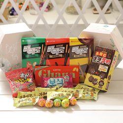 플라워육각박스(중) 막대과자 데이 수능 초콜릿 선물