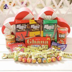 레드하트박스(소) 막대과자 데이 수능 초콜릿 선물