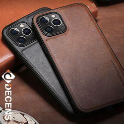 데켄스 M518 아이폰 가죽 휴대폰 케이스