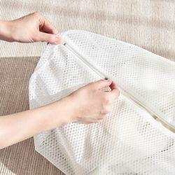 무형광 세탁망 - 니트셔츠용 2P