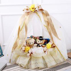 웨딩바구니(골드) 막대과자 수능 과자 초콜릿 선물