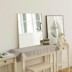 알루미늄 벽걸이거울 전신거울 인테리어 화장대