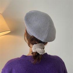 모던 베레모 여성 가을 겨울 니트 벙거지 모자