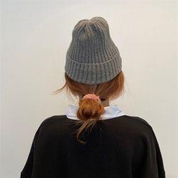 보카시 비니 여성 가을 겨울 니트 벙거지 모자