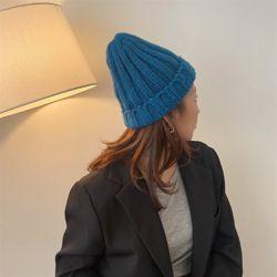 볼딩 비니 여성 가을 겨울 니트 벙거지 모자