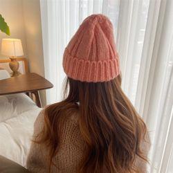 컬러 비니 여성 가을 겨울 니트 벙거지 모자