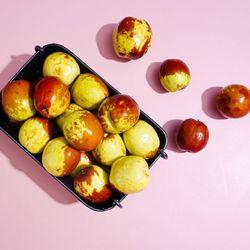 달콤한 햇 사과대추 1kg 500gx2