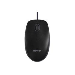 로지텍코리아 로지텍 옵티컬 B100 USB 저소음 유선 마우스