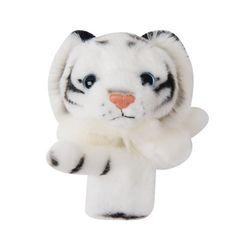 백호 봉제 25cm 가방고리 인형 차량 인형 유아 아기 장난감