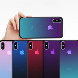 아이폰11PRO MAX XR X SE2 8 반투명 그라데이션케이스