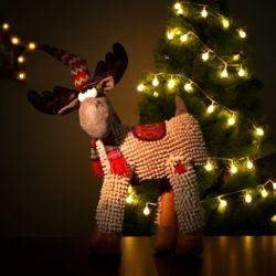 크리스마스 루돌프 인형장식(55cm)