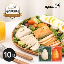 [교촌] 수비드 닭가슴살 115g 2종 10팩